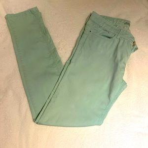 Pistachio Green (mint colour) skinny jeans